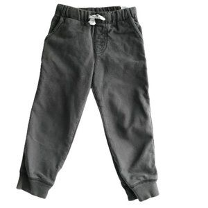 Carter's Grey French Terry Joggers Toddler Pants